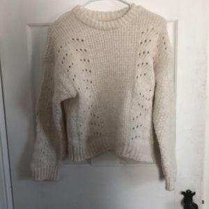 White urban outfitters sweater, Sz. M